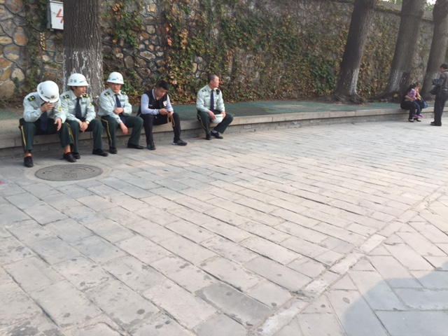 Security at Summer Palace, Beijing
