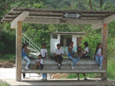 The School Stop...