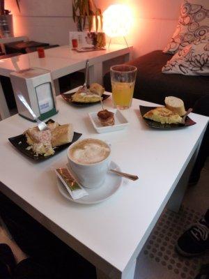 Bilbao Out to eat Pinxto