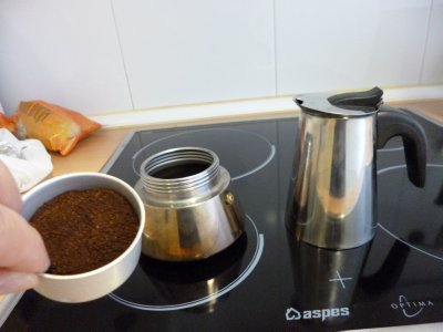 Madrid: Stovetop Expresso