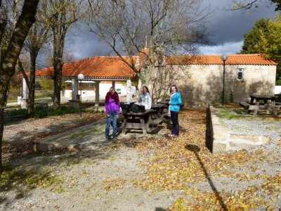 Travelling to Coimbra: picnicing