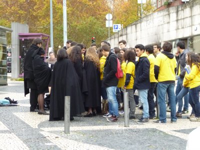 Coimbra: University Students in Robes