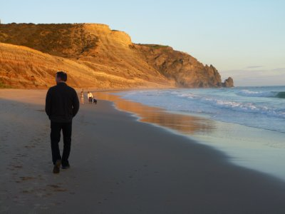 Algarve: Beach at Luz