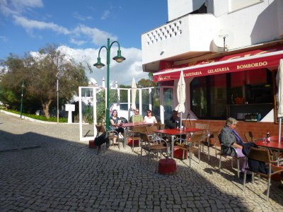 Algarve: Our cafe