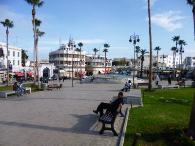 Tangier: Old town main square
