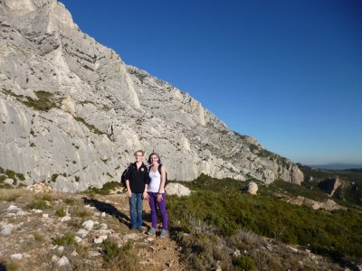 Montagne Sainte Victoire:Part Way Up