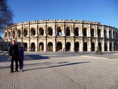 Provence Roman Sights: Coliseum in Nimes