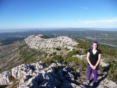 Montagne Sainte Victoire: Part of the 18 Km length of the mountain