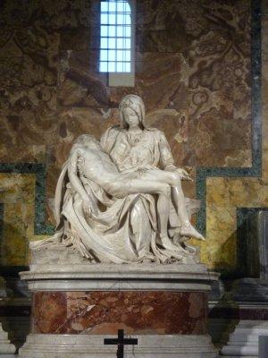 Rome: Saint Peter's --Michelangelo's Pieta