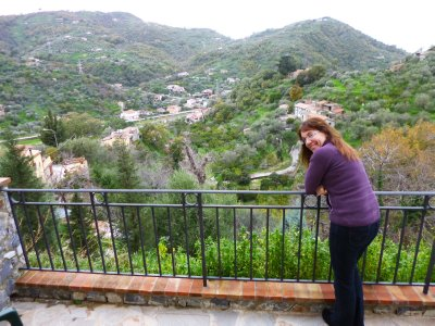 Sicily: View from our Balcony in Gioiosa Marea