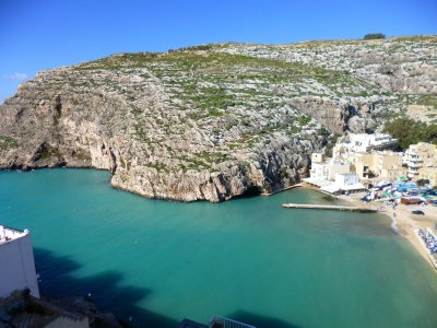 Xlendi: View from our apartment