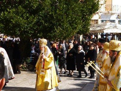 Nafplio: Saint Anastasius Procession