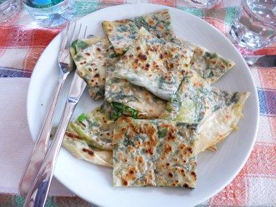 Potato and Spinach Gozleme