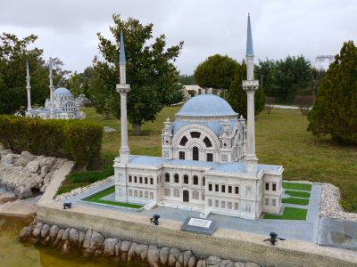 Miniature Dolmabache Mosque