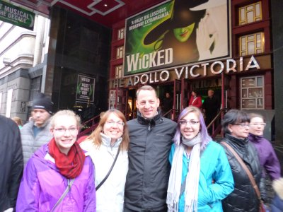Seeing Wicked in London