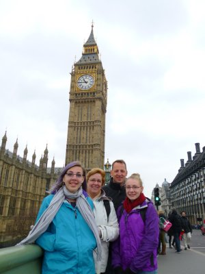 Big Ben and L'il Ben and his Family