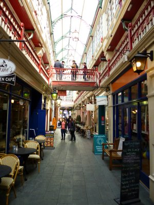 Cardiff Streets and Buildings-Many Arcades
