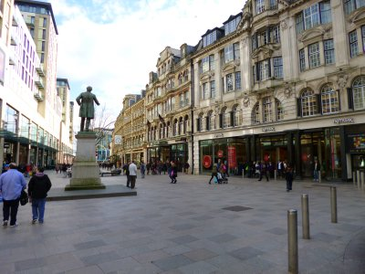 Cardiff Streets and Buildings