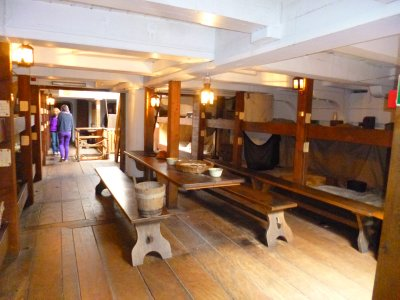 Dunbrody Famine Ship: Steerage Class