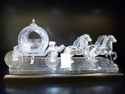 Waterford Crystal: Cinderella Carriage