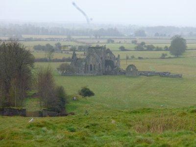 Rock of Cashel countryside ruin