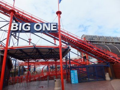 Biggest Rollercoaster in Blackpool