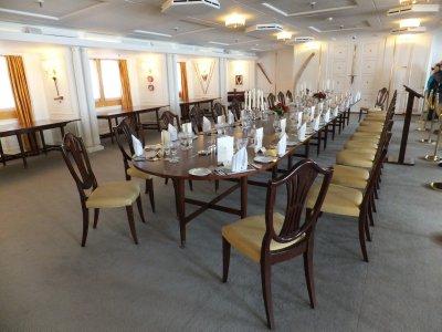 Britannia: State Dining Room