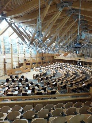 Scottish Parliament Debate Chamber