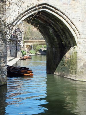 Rowboats on the River Wear