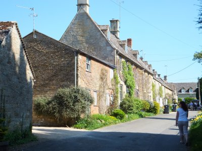 A typical Cotswold Street