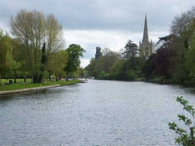 Trinity Church Beside the River Avon