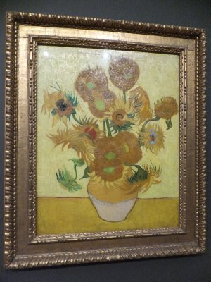 Van Gogh Still Life Vases with 12 Sunflowers