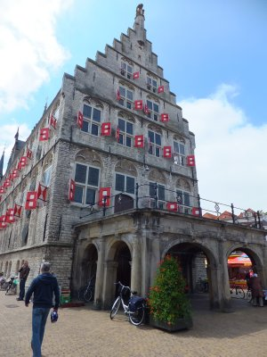 Old City Hall in Gouda: Stadhuis