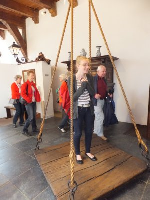 Getting Weighed at the Witch Museum