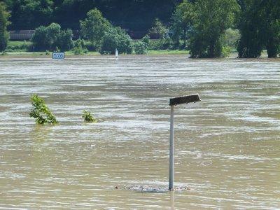 Flooding in Boppard