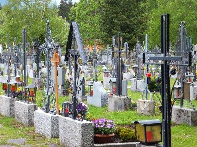 Cemetery in Geistal