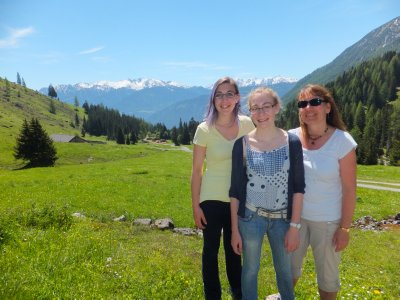 Austrian Beauties Near Imst