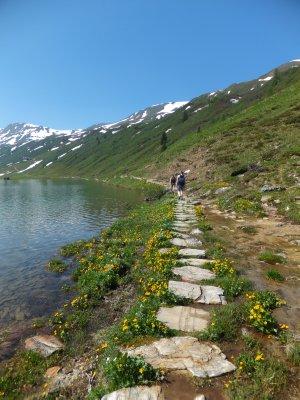 Tappenkarsee Lake walk