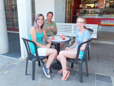 Fossalta ice cream shop