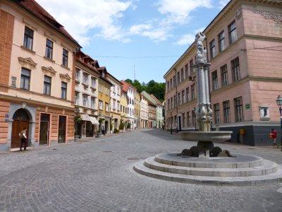 Ljubljana square