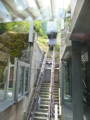 Funicular up to Ljubljana Castle