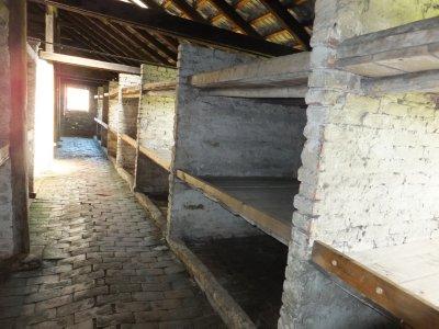 Auschwitz-Birkenau: inmates' barracks