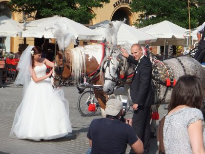 Conflicted Bride in Krakow