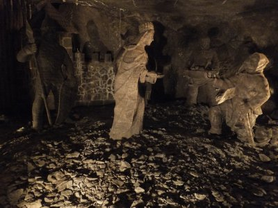 Salt Mine Sculptures