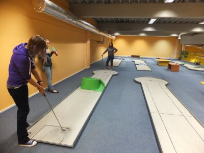 Indoor Mini Golf Czech Style
