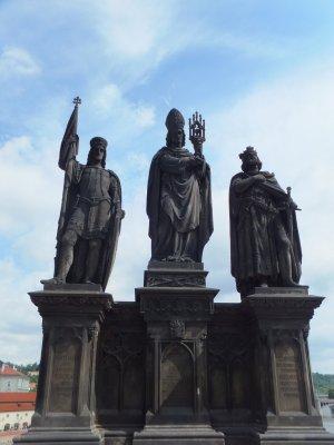 Statuary on Charles Bridge