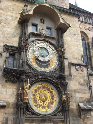 Clock in Old Town Square, Prague