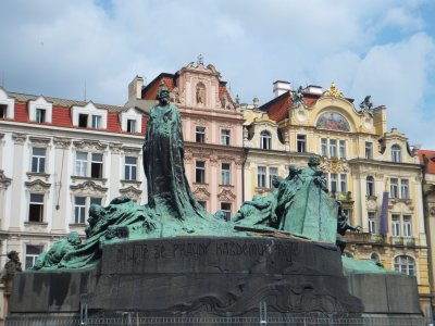 Jan Huss Monument Prague