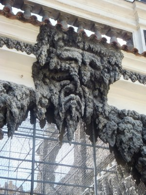 Wallenstein Garden: Artificial Stalactite Decorations