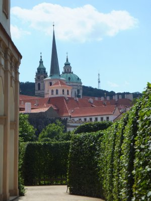 Views from Wallenstein Palace Garden
